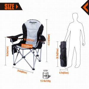 KingCamp Folding Camping Chair-1