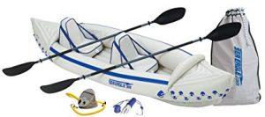 Sea Eagle SE370 Inflatable Sport Kayak Pro Package-1