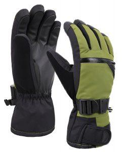 Verabella Thinsulate Lined Touchscreen Snow Ski Gloves